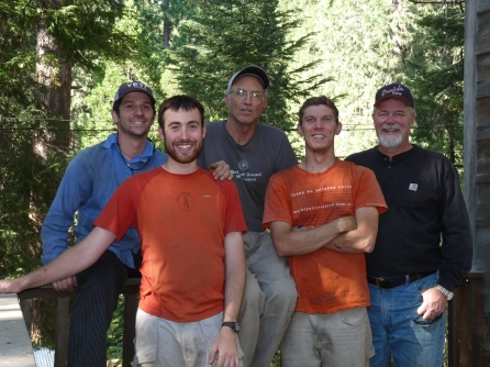 The Team, (from left) Dave Katz, Rob Moore, John Dalbey, Keith Luscinski, Ken Somers