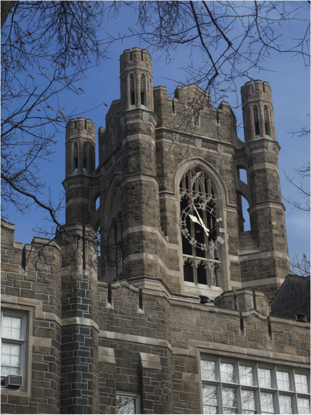 removal of the clock hands on fordham university u2019s rose