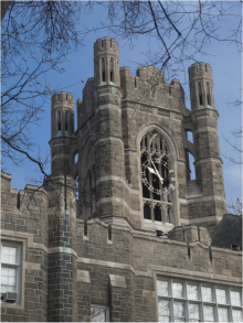 Keating Hall Clock Tower, Fordham University.