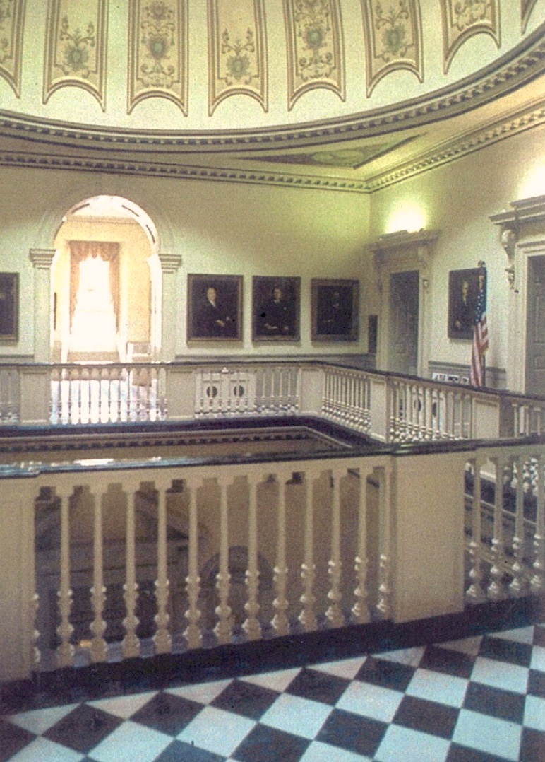 Virginia state capitol interior