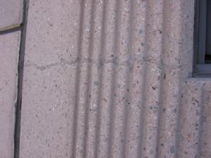 Sound crack repair in a precast concrete panel