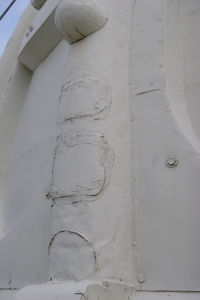 Sound patch repair in sheet metal