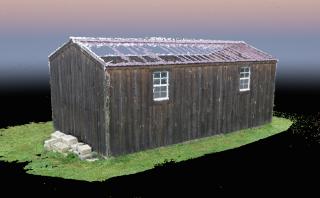 shed point cloud