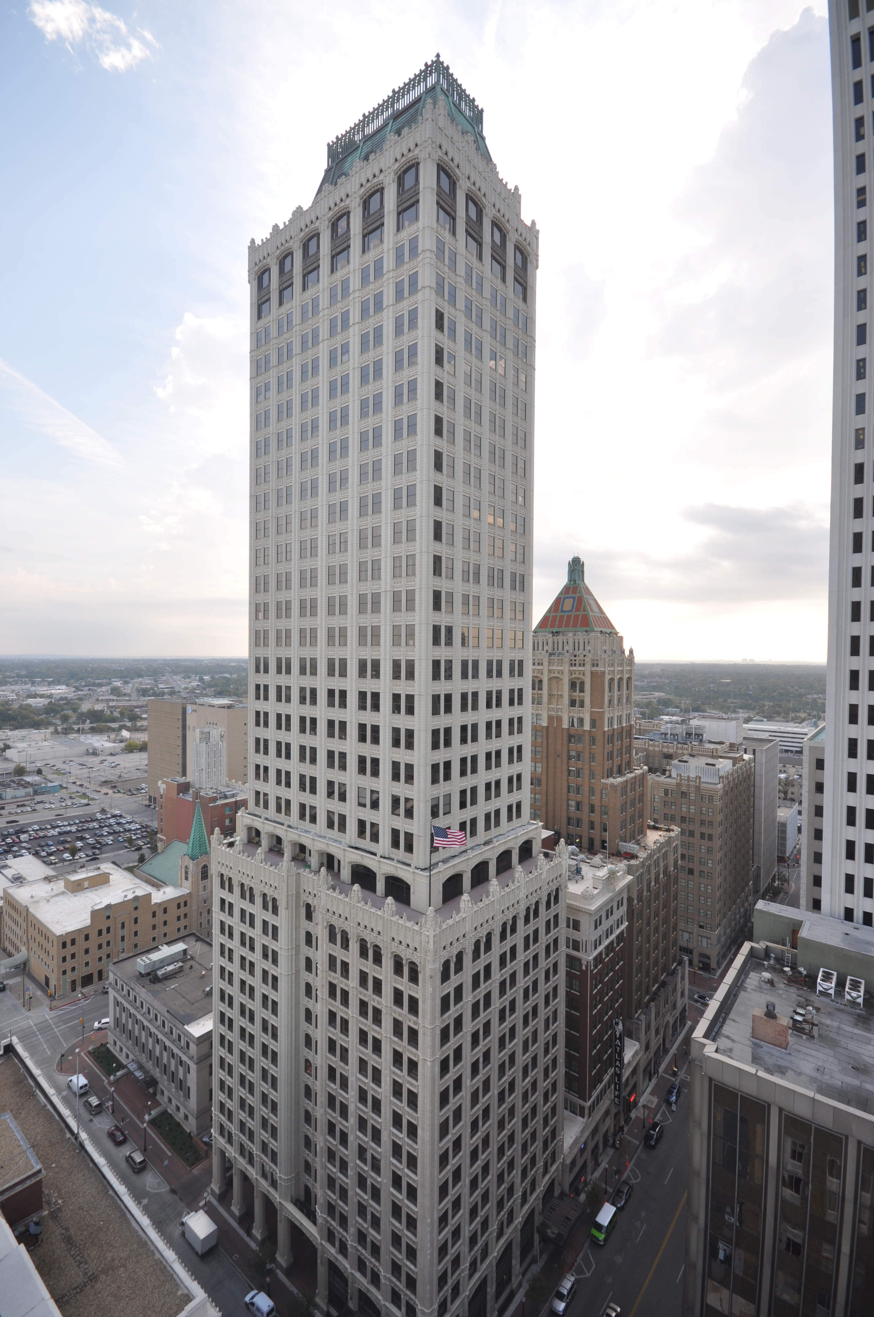 Mid Continent Tower In Tulsa Vertical Access Llc Blog