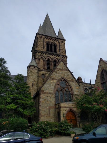 Upjohn's Trinity Church in Princeton, NJ